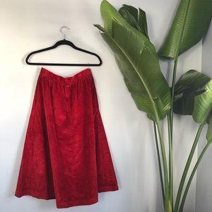 vtg JH Collectibles Corduroy Skirt